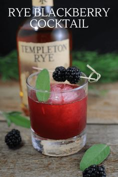 You Have Meals Poisoning More Normally Than You're Thinking That Sage Advice Cocktail Recipe Rye Whiskey, Blackberries, Sage Simple Syrup For Fathers Day - Drink Party Food And Drinks, Fun Drinks, Yummy Drinks, Beverages, Drinks Alcohol Recipes, Non Alcoholic Drinks, Drink Recipes, Craft Cocktails, Holiday Cocktails