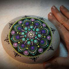 Mandala de piedra grande por PierreduCoeur en Etsy