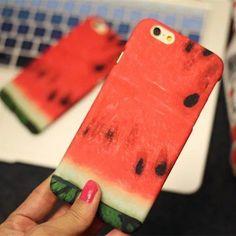(219) Fancy - Watermelon iPhone Case