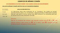 Resultado de imagen para divisibilidad de números naturales producto de maximo comun divisor y mínimo común múltiplo