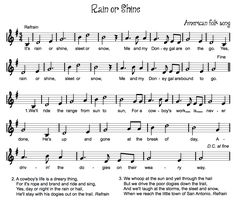 Beth's Music Notes-best list of folk songs to be found!!