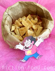 """Food Adventures (in fiction!): """"The Bits!"""" (Fry Bits) from """"Steven Universe"""""""