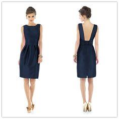 Free Shipping Knee Length Taffeta Cocktail Dress Backless 2012110899 US $44.99