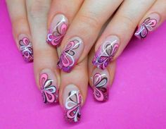 this is pretty for one nail but too much for all nails