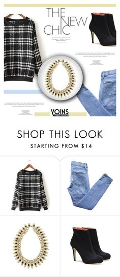 """Yoins #43 (http://yoins.me/1PrM4be)"" by antemore-765 ❤ liked on Polyvore featuring 7 For All Mankind, women's clothing, women's fashion, women, female, woman, misses and juniors"
