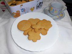 Biscotti di farina di ceci - gluten free e senza lattosio