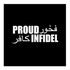 """Proud Infidel 7"""" Vinyl"""