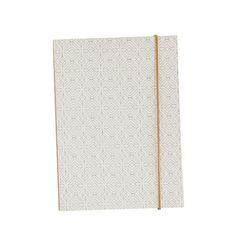 Carnet Colours motifs blanc