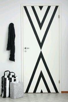 20 Washi Tape Ideas - Wall decor