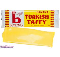 Just found Bonomo Banana Turkish Taffy Candy Bars: 24-Piece Box @CandyWarehouse, Thanks for the #CandyAssist!