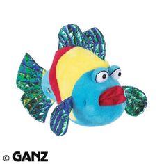 $7.04-$0.00 Baby Webkinz Plush Stuffed Animal Pucker Fish.