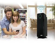 Compare Wi-Fi Supporting Smart Home Air Purifiers:  GermGuardian CDAP4500BCA, Winix HR1000 or Blueair Classic?