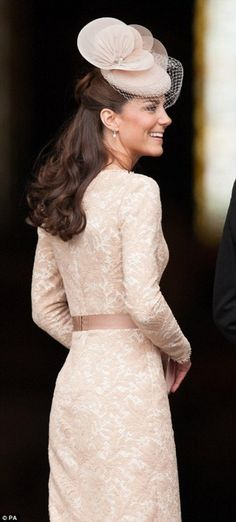 Kate Middleton in Alexander McQueen at the Jubilee reception.