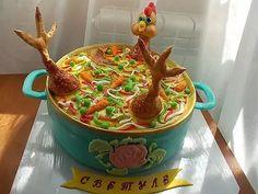 оригинальное оформление торта фото: 14 тыс изображений найдено в Яндекс.Картинках