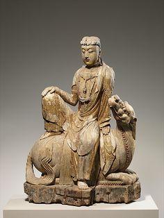 Bodhisattva Avalokiteshvara of the Lion's Roar, or Simhanada Avalokiteshvara (Shi Hou Guanyin) Period: Ming dynasty (1368–1644) Date: late...
