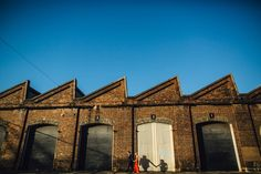 Carriageworks Photo Shoot www.matthewmead.com.au #engagement #prewedding #photography #couple #love #prenup #photoshoot #ideas #savethedate #photos #inlove #portrait #poses #romantic #photographer #happiness #moment #dress #jewelry #ring #preweddingphotography #engagementphotography #bluesky
