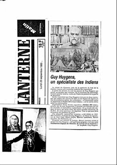 La Lanterne : Guy Huygens, un spécialiste des Indiens (23.09.1985)