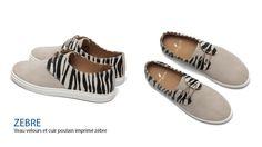 Sneakers zèbre - Pied de Biche - Paris - Ulule