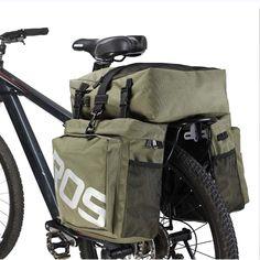 Expedition Bike Rack Bag 3 in 1