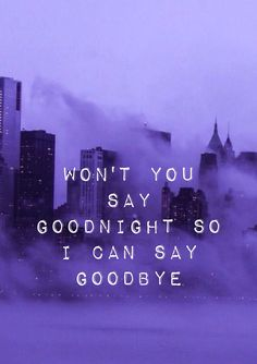 I didn't read it at first and just assumed it was a FOB lyric because of the purple lol