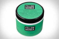 When you style your coif in the morning, you want a product that will hold all day, but not something that'll take three showers just to get it out of your hair. So, fortunately, there's Fellow Barber Strong Pomade —...