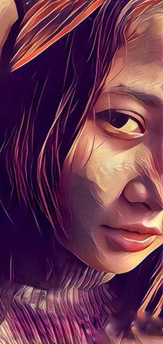 My girlfriend became cool Me As A Girlfriend, My Photos, Cool Stuff, Artwork, Anime, Work Of Art, Auguste Rodin Artwork, Artworks, Cartoon Movies