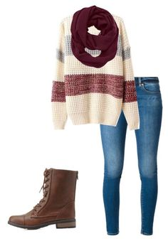 A fashion look from august 2015 by sweatshirt-irwin featuring michael micha Winter Outfit For Teen Girls, Casual Winter Outfits, Outfits For Teens, Fall Outfits, Fashion Outfits, Pretty Outfits, Cute Outfits, Stitch Fix Outfits, Winter Mode