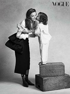 Miranda Kerr with her son Flynn.