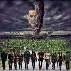 interesting take! Negan really is like a tornado coming and ripping shit up.