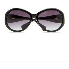 MANGO Oversize sunglases (46 CAD) ❤ liked on Polyvore
