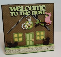Sherrie Scraps with passion: Kate's ABC cartridge~Welcome to the nest!
