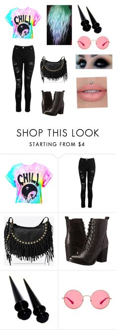 """""""Untitled #90"""" by marialk-1 on Polyvore featuring Dorothy Perkins, Valentino, Steve Madden and Ray-Ban"""