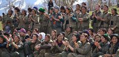 Vino y girasoles...: Las mujeres kurdas que atemorizan al ISIS.