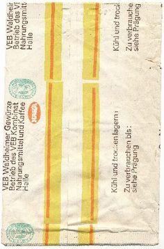 """DDR Museum - Museum: Objektdatenbank - Papiertüre """"Lorbeerlaub""""    Copyright: DDR Museum, Berlin. Eine kommerzielle Nutzung des Bildes ist nicht erlaubt, but feel free to repin it!"""