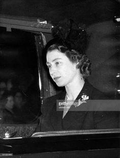 Queen Elizabeth, February 8, 1952