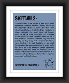 Sagittarius, Love this!