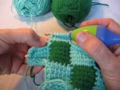 Crochet Stitch M2 : ... Crochet, Tunisian Crochet Patterns and Tunisian Crochet Stitches
