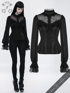 Gothic+Lily+shirt