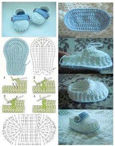 crochet tuto slippers (17)