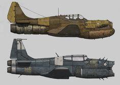 War Planes, Ariel Perez on ArtStation at https://www.artstation.com/artwork/E9DY4