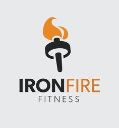 IronFire Fitness logo   Noble Design