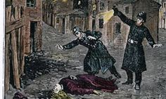 http://historicaleventsblog.weebly.com/ Newspaper drawing of Jack the Ripper London, 1888 Victorian History Historical