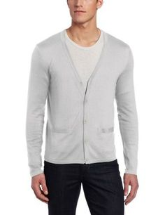 Allegra K Mens Long Sleeve Double Breasted Decorative Pockets ...