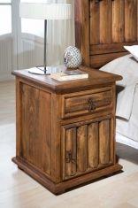 Tables de Chevet avec Porte : Collection TRONC
