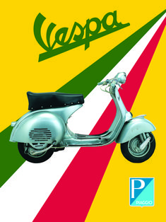 Vintage Italian Vespa Posters - Picture Gallery