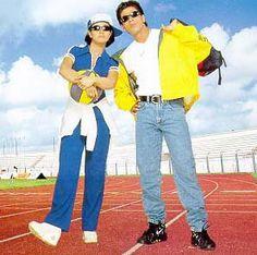 Shah Rukh Khan and Kajol - Kuch Kuch Hota Hai Bollywood Fashion, Bollywood Style, Desi Problems, Kuch Kuch Hota Hai, Hollywood Couples, Karan Johar, Vintage Bollywood, Madhuri Dixit, Shahrukh Khan