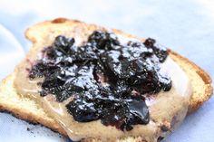 blueberry jam canning recipe