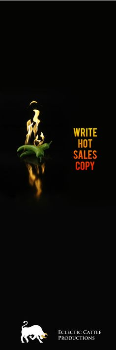 Learn to write sizzling Salesletters with Free Copywriting Course from Eclectic Cattle Productions. #freecourse #copywriting