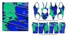 sublimation swimwear design