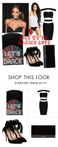 """""""Making Love Set"""" by lyly1123 on Polyvore featuring Sarah's Bag, Gianvito Rossi and Balmain"""